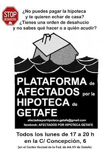 Cartel PAG Getafe